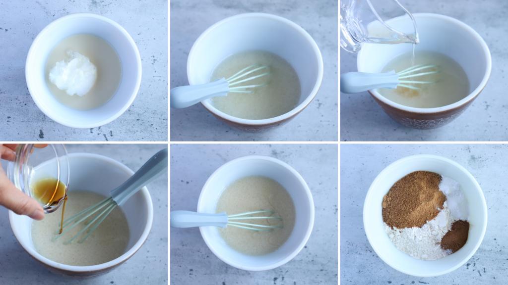 ヴィーガンキャロットケーキの作り方